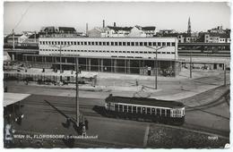 Wien Vienna Tram Tramway Strassenbahn Florisdorf Bahnhof 1969 - Vienne