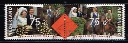 PAYS-BAS - Oblitérés/Used/ 1991 - 25 Ans De Mariage Reine Beatrix/Prince Claus - 1980-... (Beatrix)