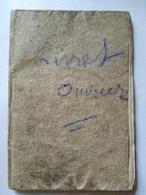 MARSEILLE - LIVRET OUVRIER - 1861 - Jean Litardi -  Manœuvre-  Employé - Diverses Entreprises -  Voir Annonce - Documents Historiques