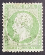 1862-1871, Emperor Napoléon Lll, 5c, Empire Française, France - 1862 Napoleon III