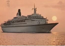 Royal Viking Sky Royal Viking Star  Royal Viking Sea World Class Ship Of Norwegian Registry - Dampfer