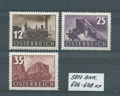 SATZ ANK. 646 - 648 Postfrisch Siehe Scan - 1918-1945 1. Republik
