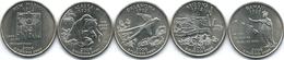 United States Of America - 2008 - Quarter Dollar - Oklahoma, New Mexico, Arizona, Alaska, Hawaii - 1999-2009: State Quarters