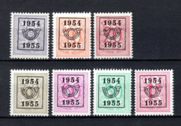 PRE645/651 MNH** 1954 - Cijfer Op Heraldieke Leeuw Type E - REEKS 47 - Typo Precancels 1951-80 (Figure On Lion)