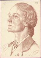 AK Deutscher Blutadel ,Führerin  R.U.D.,Künstlerkarte W.Willrich 1942 - Guerre 1939-45