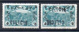 CILICIE - YTn° 21 + Variété - Neufs * - MH - Cilicia (1919-1921)