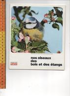 CHEQUE CHIC LUSTUCRU NOS OISEAUX DES BOIS ET DES ETANGS   Pochette Avec Ses 12 Photographies - Vieux Papiers