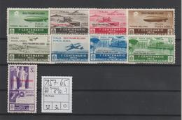 Ägäische Inseln: Flugpostmarken Tapferkeitsmedaille, Sauber Entfalzt - Egée