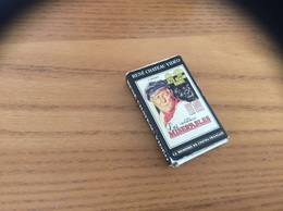 """Boîte D'allumettes SEITA Type 501 L'instant Star Série RENE CHATEAU VIDEO N°6 """"Les MISERABLES (jean GABIN)"""" - Matchboxes"""