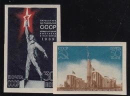 USSR/Russia 1939 New York  MNH  INP. MI: 693-4 - 1923-1991 USSR