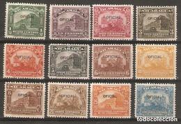 NICARAGUA.1927. OFICIAL. YT 249/260 - Nicaragua