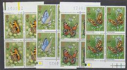 Great Britain 1981 Butterflies 4v Bl Of 4 ** Mnh (43608) - 1952-.... (Elizabeth II)