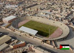 Western Sahara Laayoune Football Stadium New Postcard Westsahara Stadion AK - Sahara Occidental