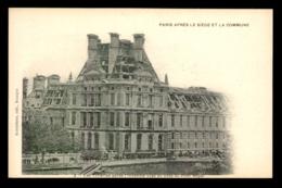 GUERRE DE 1870 - PARIS - APRES LE SIEGE ET LA COMMUNE - LES TUILERIES APRES L'INCENDIE - France