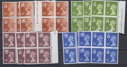 Great Britain 1980 Regionals 12v Bl Of 4  ** Mnh (43611) - Local Issues