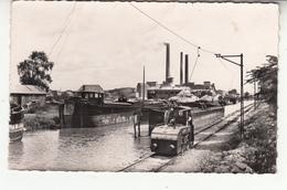 57 - Heming - Cimenterie - Canal Marne-rhin (1959) - Locomotive - Chemin De Fer - ETAT A VOIR - France