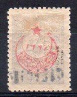 CILICIE - YT N° 9 Surcharge Recto/verso - Signé - Neuf * - MH - Cilicia (1919-1921)
