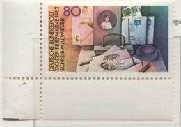PIA - GERMANIA : 1982 : Giornata Del Francobollo - Scrittoio Con Corrispondenza  - (Yv 986) - Giornata Del Francobollo