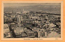 Montevideo Uruguay Old Postcard - Uruguay