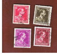BELGIO (BELGIUM)   - SG 748.752  -   1936  KING LEOPOLD III (21X24)    - USED - Belgium