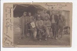 CP PHOTO MILITARIA Souvenir D'Orient Le 20-11-1918 - Personnages
