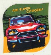 AUTOCOLLANT . STICKER .  AMI  SUPER . CITROEN . - Autocollants