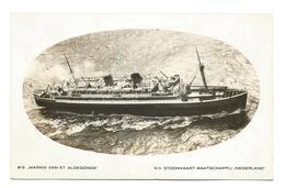 MS Marnix Van St.-Aldegonde - Stoomvaartmaatschappij Nederland 1935 #1 - Piroscafi