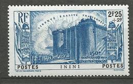 ININI N° 35 NEUF* TRACE DE CHARNIERE / MH - Inini (1932-1947)