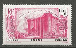 ININI N° 34 NEUF* TRACE DE CHARNIERE / MH - Inini (1932-1947)