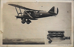 """CPA. > Aviation > 1919-1938 >Le 1er Septembre 1930, Costes Et Bellonte En Vol Sur  Le Bréguet """"Point D'Intérrogation"""" - 1919-1938: Entre Guerres"""