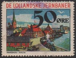 Denmark, Lollandske Jernbaner, Railway Stamp, Used. - Danimarca
