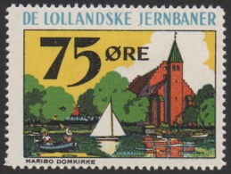 Denmark, Lollandske Jernbaner, Railway Stamp, MNH. - Danimarca