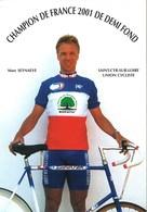 CYCLISME: CYCLISTE : MARC SEYNAEVE - Ciclismo