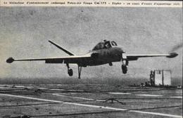 CPA. > Aviation > Le Fouga CM-175 Zéphyr Est Un Avion D'entraînement Militaire Biplace - TBE - 1946-....: Ere Moderne