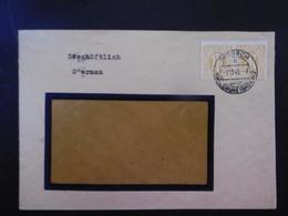Bizone Mi. 20? (2) Fenster Geschäftsbrief Von Mörsch 7.12.1945 - Zone Anglo-Américaine