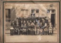 Photo De Mariage De Groupe, Photographe DESRUES De FOUGERES (35), état Médiocre, Secteur BRECE Ou SERVON (35) - Personnes Anonymes