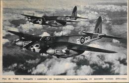 CPA. > Aviation > Le MOSQUITO  Est Un Avion Multirôle Britannique Qui S'est Distingué En Tant Que Chasseur-bombardier - 1946-....: Ere Moderne