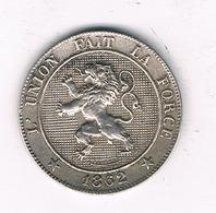 5 CENTIMES 1862  BELGIE /5543/ - 03. 5 Centimes