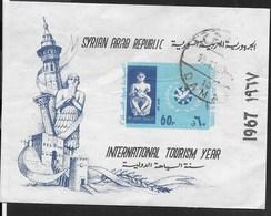 SYRIA - 1967 ANNO DEL TURISMO - FOGLIETTO USATO - (YVERT BF22 - MICHEL BL 53) - Siria