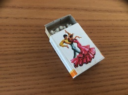 "Boîte D'allumettes Espagne ""ENCIENDA CON CERILLAS / Flamenco"" Type 3 - Matchboxes"