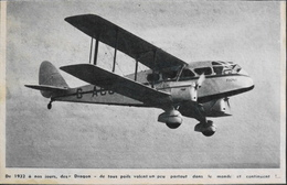 CPA. > Aviation > Le DRAGON De Havilland DH.82 Tiger Moth Est Un Avion Biplan Des Années 1930 - 1919-1938: Entre Guerres