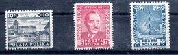 Pologne / Série N 551 à 553 / NEUFS**  / Côte 10.5 € - 1944-.... Republic