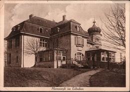 ! Alte Ansichtskarte Herrenwyk, Lübeck, Villa,  1942 - Lübeck