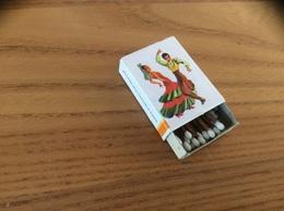 "Boîte D'allumettes Espagne ""CLUB AYUDALE A CAMINAR / Flamenco"" Type 7 - Matchboxes"