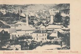 Bosnia Herzegovina KuK 1900 Travnik - Downtown - Dolnja Čaršija - Weiss & Dreykurs (Wien) - Bosnien-Herzegowina