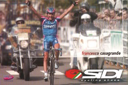 CYCLISME: CYCLISTE : FRANCESCO CASAGRANDE - Ciclismo