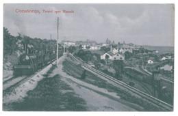 RO 03 - 14668 CONSTANTA, Romania, Railway Station, Trains - Old Postcard - Unused - Roemenië