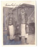 RO 03 - 16624 ORAVITA, ETHNICS, Railway Station, Romania - Old Postcard, Real PHOTO - 11,7/8,8 Cm - Unused - Romania
