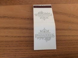 """Pochette D'allumettes Espagne """" PARADORES DE TURISMO"""" - Matchboxes"""