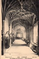 LONDON - The House Of Commons - The Cloisters - London